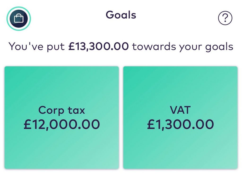 sinking fund example - starling bank